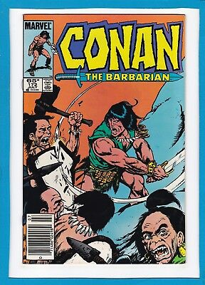 "Conan The Barbarian #172_July 1985_Very Fine_""reavers In The Borderland""!"