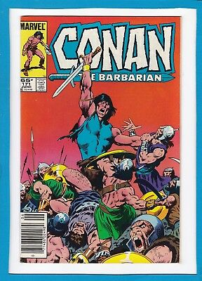 Conan The Barbarian #171_June 1985_Nm Minus_Marvel Bronze Age Sword & Sorcery!