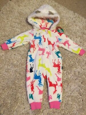 New Matalan Christmas All In One 9-12mths Baby Girls Xmas