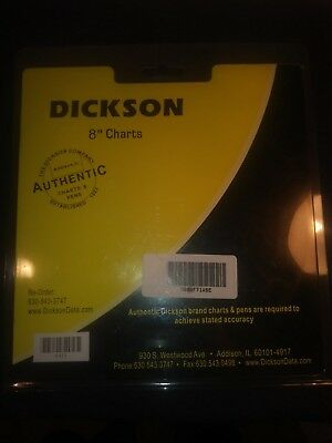 "Dickson 8"" Charts C472 1pack of 60"