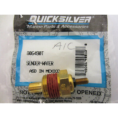MerCruiser New OEM Water Temperature Temp Sender Sensor Sending Unit 806490T