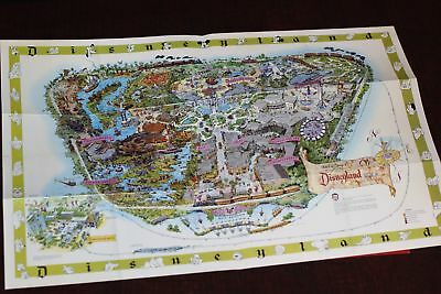 Disneyland Map Walt Disney Archives Authorized Facsimile Edison Square 1964/2003