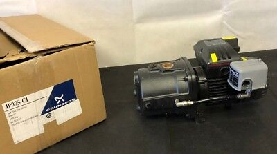 Cast Iron Shallow Well Jet Pump 3/4 HP  JP07S-CI JP4-54A-PS 97855081