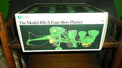 John Deere model 494-A Four row planter Precision #9 Sealed in box
