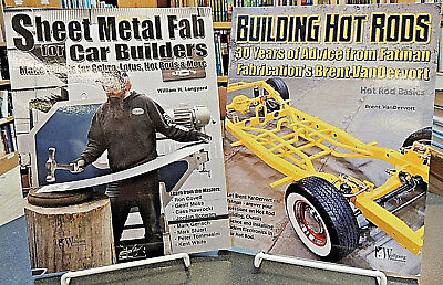 2 BK Set: Sheet Metal Fab Car Builders & Building Hot Rods 30 Years Fabrication
