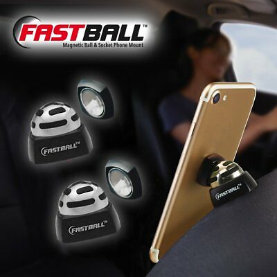 Lot of 2 FastBall Fast Ball Patented Magnetic Media Mount  (A BulbHead Product)