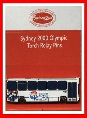 1TF 308# * SYDNEY 2000 OLYMPIC GAMES * Torch Relay Convoy Bus *