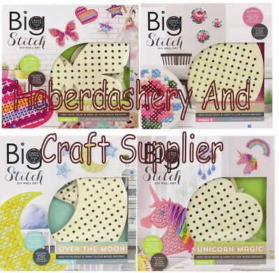 Big Stitch Wall Art Diy Bases Only Add Your Yarn Paint Choose 1 From List