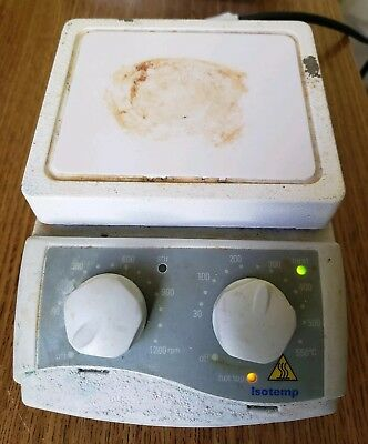 Fisher Scientific Isotemp Magnetic Stirring Hot Plate Model 11-600-16SH w/ Cord