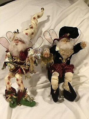 """Mark Roberts Collectable Elf , Lot Of Two Large 15"""" Elf'S"""