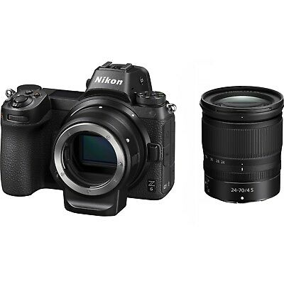 Nikon Z6 + 24-70mm + FTZ Adapter Kit