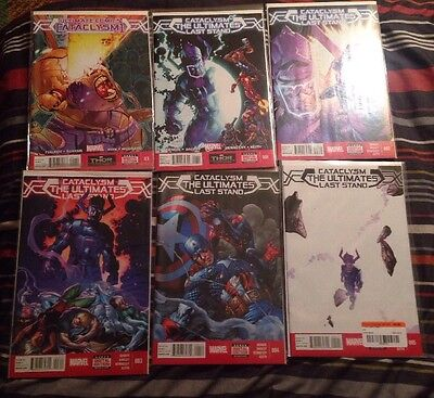 Cataclysm The Ultimates Last Stand 1-5 + 0.1 High Grade [marvel Comics]