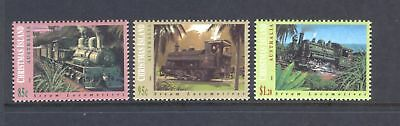 Christmas Island  1994  Steam Locomotives, MNH.