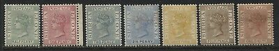 Sierra Leone QV 1883-93 various values to 1/ mint o.g.