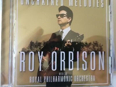 ROY ORBISON & Royal Philharmonic - Unchained Melodies CD 2018 Sony BRAND NEW!