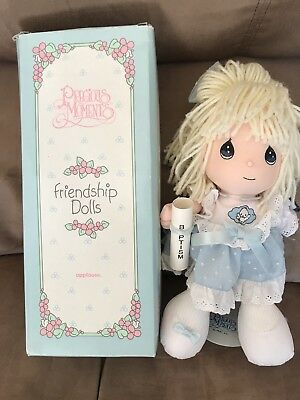 Precious Moments Friendship Dolls Jennifer 1993, Baptism NEW In Box By Applause