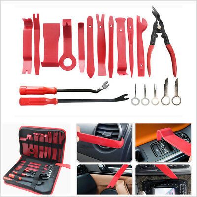 19x Car Audio Door Panel Install Tool Moulding Trim Dash Stereo Remove Pry Tools