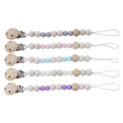 Baby Kids Chain Clip Holders Dummy Pacifier Soother Nipple Unisex Leash Strap