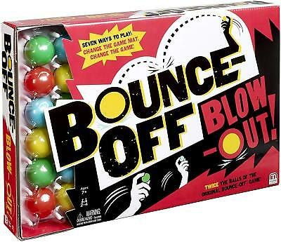Mattel Games Bounce Off Blow Out Game
