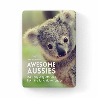 Awesome Aussies - Affirmation Animal Card Set - Affirmation Card Sets, APHDAA