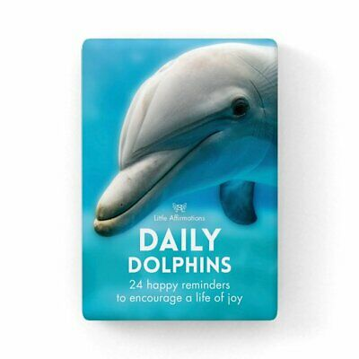Daily Dolphins - Affirmation Animal Card Set - Affirmation Card Sets, APHDDD
