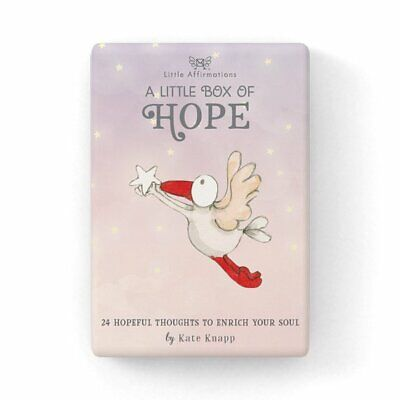 A Little Box of Hope - Affirmation Card Set - Affirmation Card Sets, APHDHP