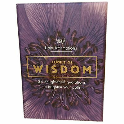 Wisdom - Affirmation Card Set - Affirmation Card Sets, APHDJW