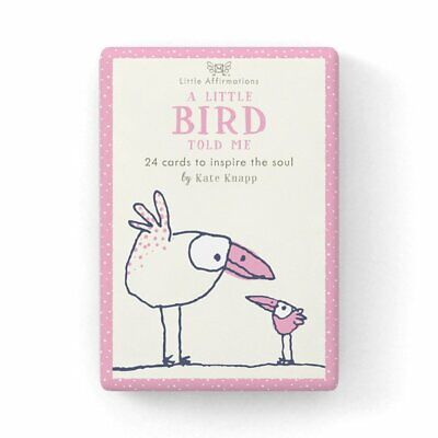 A Little Bird Told Me - Affirmation Card Set - Affirmation Card Sets, APHDLB