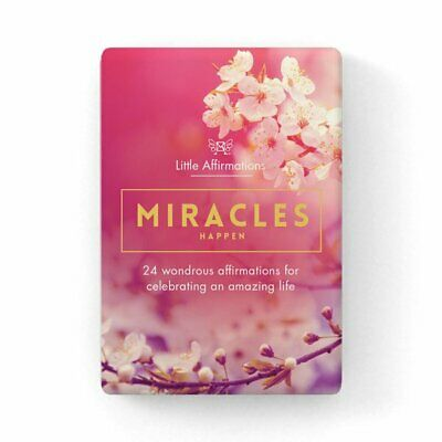 Miracles - Affirmations Card Set - Affirmation Card Sets, APHDMI