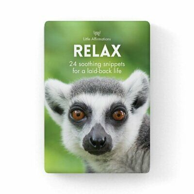 Relax - Animal Affirmations Card Set - Affirmation Card Sets, APHDRE