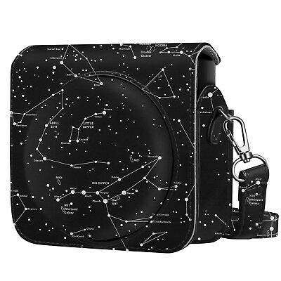 For Fujifilm Instax Square SQ6 Instant Film Camera Case Bag Cover -Constellation