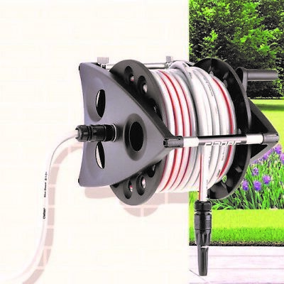Claber Kiros Hose Reel with 20m Hose + Fittings