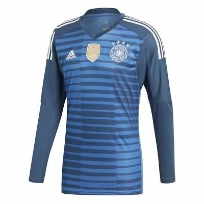 a710c67fa Adidas Kids DFB Germany World Cup 2018 Home Goalkeeper GK Goalie Jersey  Shirt