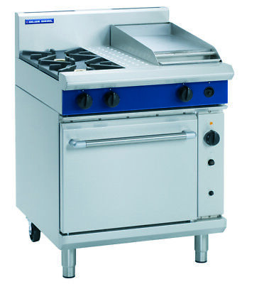 Blue Seal 750mm Gas Range Convection Oven G54C