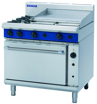 Blue Seal 900mm Gas Range Convection Oven G56B