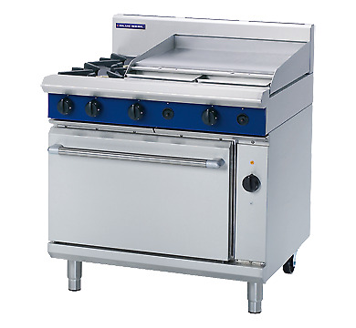 Blue Seal 900mm Gas Range Electric Convection Oven GE56B