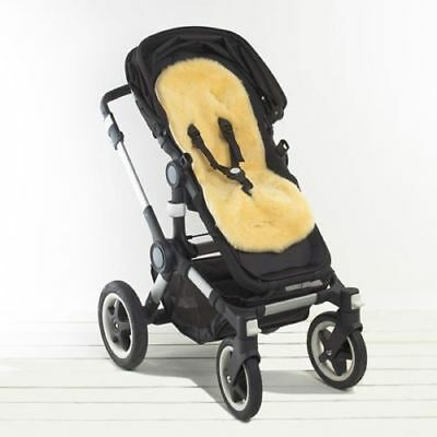 Genuine Sheepskin Pram Liner - Car Seats Strollers and Bouncers - comfy & cozy