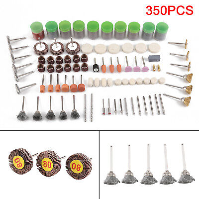 350PCS/Set Rotary Tool Accessory For Universal Sanding Grinding Polishing Kit