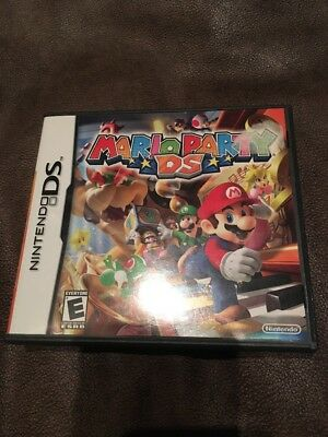 CASE / MANUAL ONLY for Mario Party DS Original Nintendo DS NO GAME