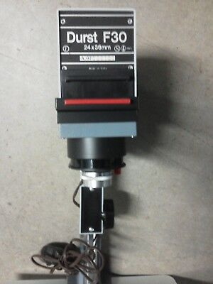 2 Photo enlargers (one complete Durst F30, unsure of the other- incomplete)