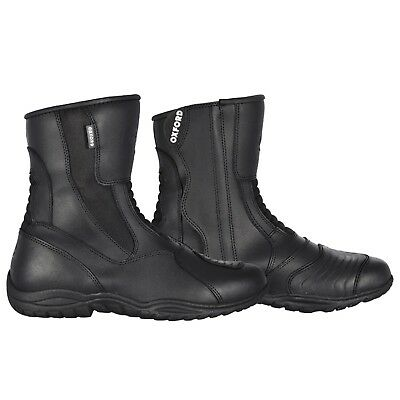 Oxford Hunter Short Boots Men Size 9 42 Black Adult Leather Waterproof