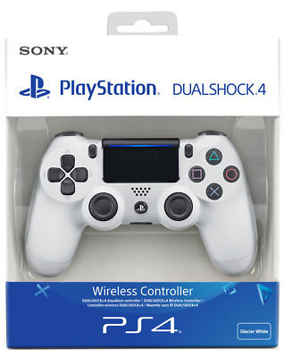 Sony Dualshock 4 Wireless Controller for PlayStation 4 - Glacier White - BNIB