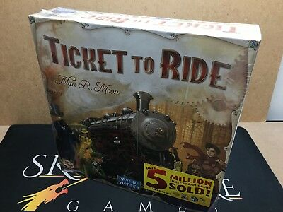 Ticket to Ride USA Board Game - Days of Wonder (Genuine Sealed)