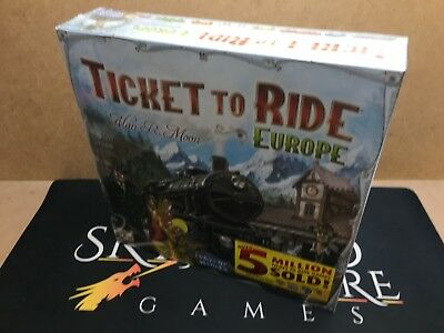 Ticket to Ride Europe Board Game - Days of Wonder (Genuine Sealed)
