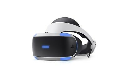 Sony PlayStation VR Virtual Reality Headset Bundle - CUH-ZVR2 - VG (READ)