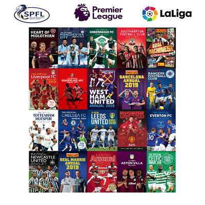 The Official Football Club Annuals 2019 Premier League Champions Deluxe Hardback