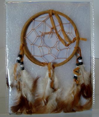 NEW in Pkg. Legend of the Dreamcatcher Tan and Brown Feathers
