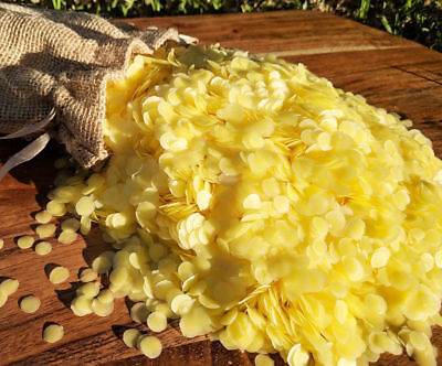 500g Organic Australian Beeswax Pellets Candle Soap Cosmetic Food Wrap Bees Wax