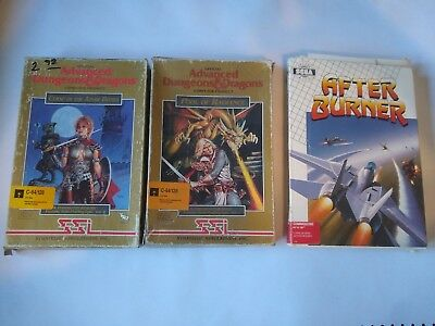 Two Commodore 64 games