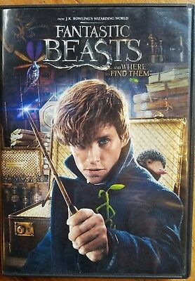 NEW!!! Fantastic Beasts and Where to Find Them (DVD, 2016)
